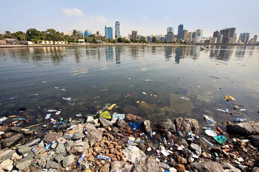 Geography UAE - Pollution Coastal Water