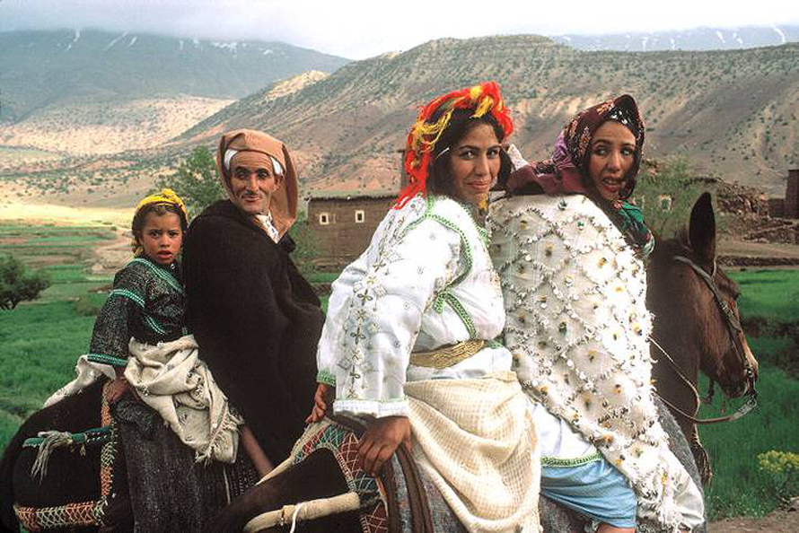 Berber family / Photo HH