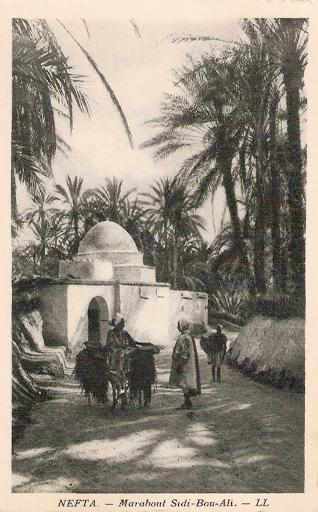 Population Tunisia - nefta marabout