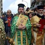 Greek Orthodox priests in Lebanon