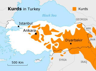 Population Turkey - Ethnic Religious Groups Kurds