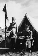 French officer with the Druze in 1940