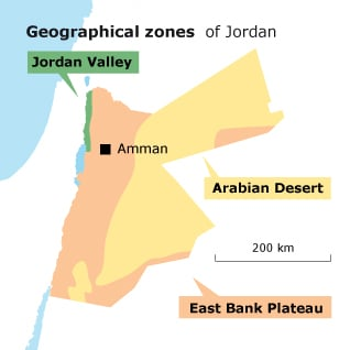 Geography of Jordan