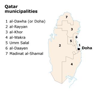 qatar provinces cities