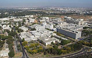 Sheba Hospital in Tel Aviv, largest hospital in Israel.
