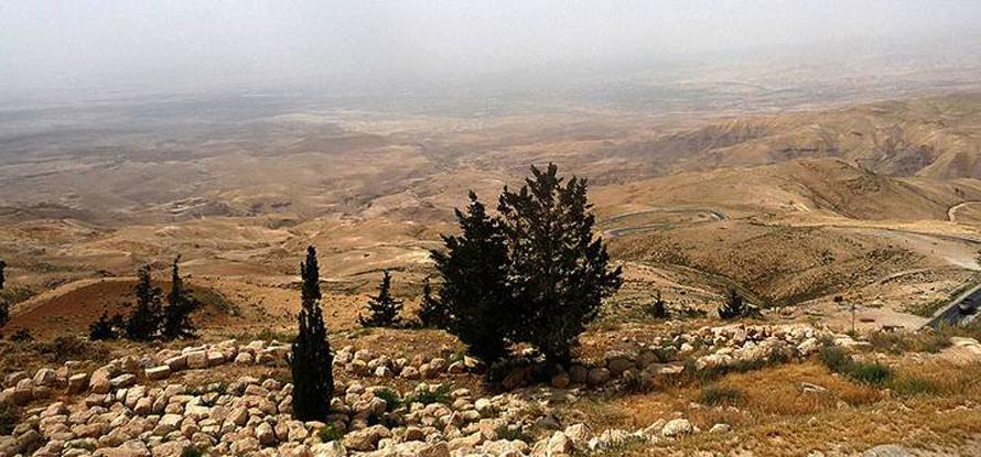 Geography Jordan - Mount Nebo