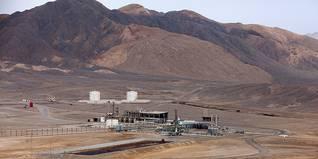 Economy Egypt - Zeit Bay oil field in the Sinai desert