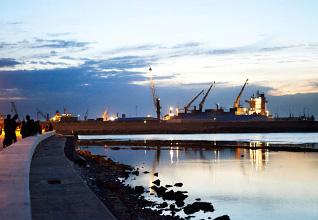 Libya Economy - Benghazi Port