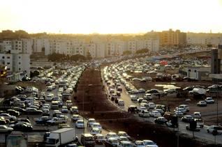 Libya Economy - traffic congestion al bayda