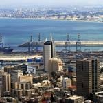 حيفا - الميناء الأكبر في شمال إسرائيل Photo Shutterstock