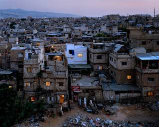 UNRWA Palestinian refugee camp Bourj al-Barajneh in Lebanon / Photo HH