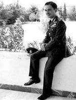 Young King Hussein in the 1950s