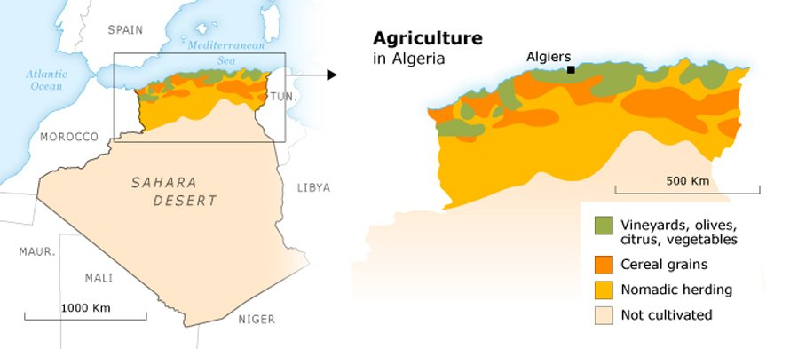 Geography Algeria - Fanack Chronicle
