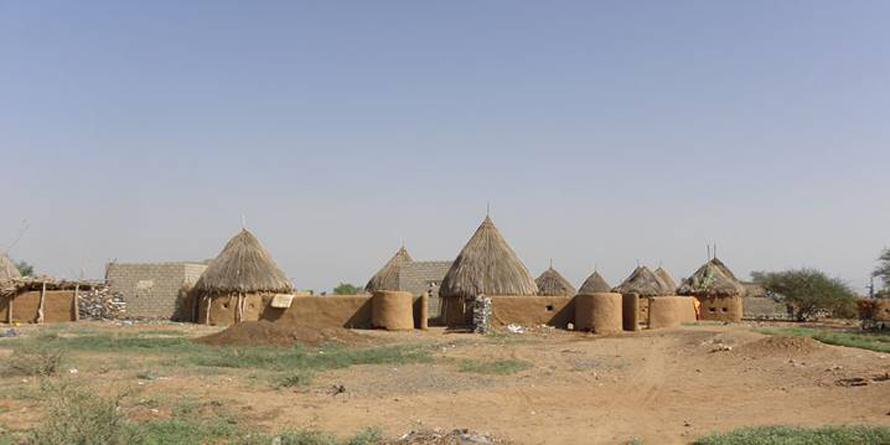 Geography Yemen - Traditional Mud Houses Tihama