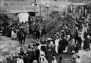 The British army enters Baghdad in 1917