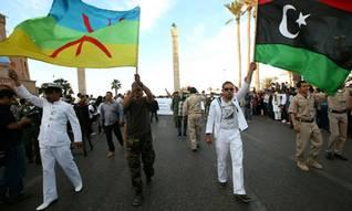 Berbers demonstrating