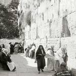 Jews at the Wailing Wall, ca. 1900