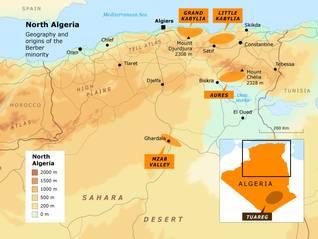 الجزائرالسكان - اضغط للتكبير