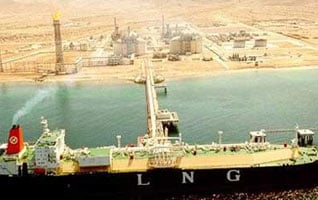 Oman Economy - Gas Ship