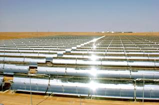 Geography Algeria - First solar power plant Hassi R'Mel