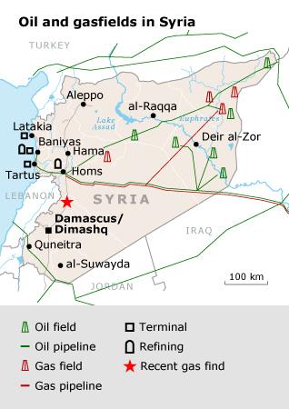 سوريا نفط غاز