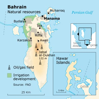 Bahrain Geography - Natural Resources