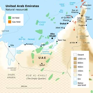 Geography UAE - Natural Resources