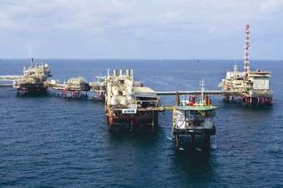 Geography UAE - Offshore Oil Field