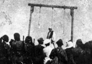 Omar Mukhtar hanged in 1931
