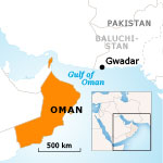 Oman Population - Other Muslim Denominations Gwadar Map