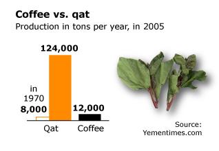 Economy Yemen - Coffee Qat