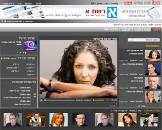 موقع هيئة الإذاعة الإسرائيليةIsrael Broadcasting Authority