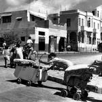 Arab families leaving Jaffa, in 1948 / UNRWA Photo Archive