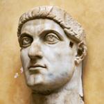 Bust of Emperor Constantine