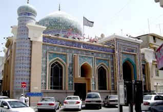 Population Bahrain - Shia mosque in Manama