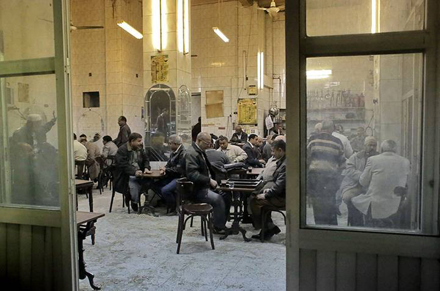 مفهى شاي في القاهرة / Photo HH