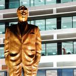 Statue of Rafic Hariri