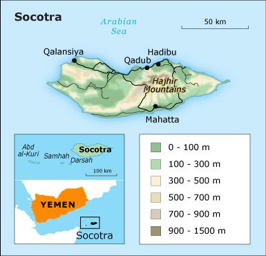 Geography Yemen - Socotra Island