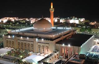 population kuwait - grand mosque night