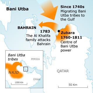 Bani Utba, Bahrain, 1782-1783