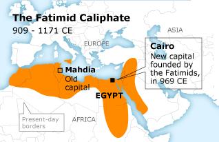 نتیجه تصویری برای Fatimid dynasty