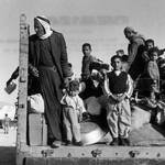 Palestinians fleeing to Jordan in 1967 / UNRWA Photo Archive