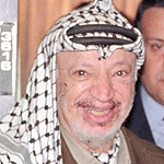 Yasser Arafat, first PNA President (1996-2004)