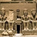 Economy Egypt - Statues of Ramses II at Abu Simbel