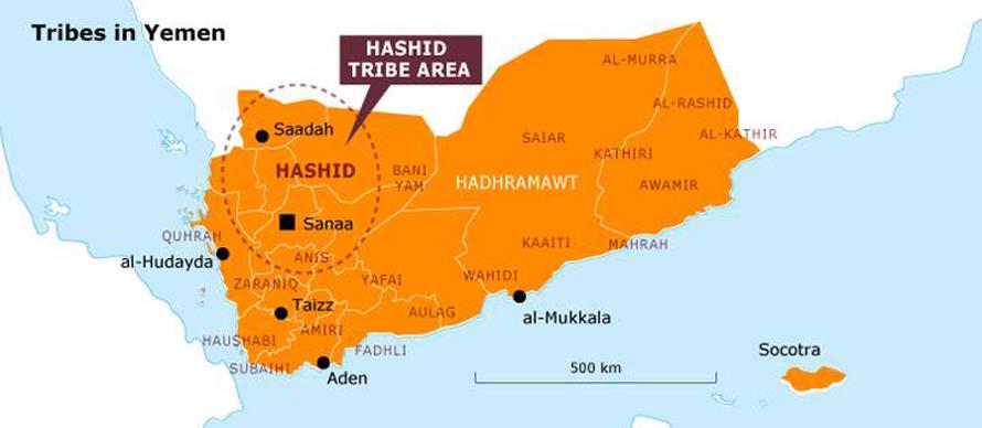 Governance Yemen - Tribes