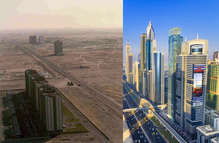 United Arab Emirates (UAE) , Dubai City ,Sheikh Zayed Avenue