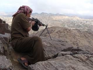 Rebel Fighter Yemen