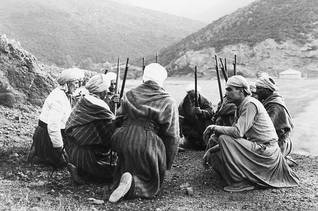 A group of Harkis, Algerian fighters supporting the French colonizer / Photo HH