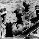 Field Marshal Erwin Rommel at the front
