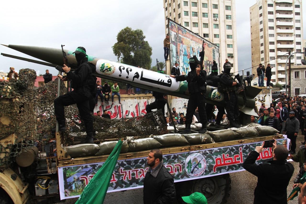 The 27th anniversary of Hamas movement's founding